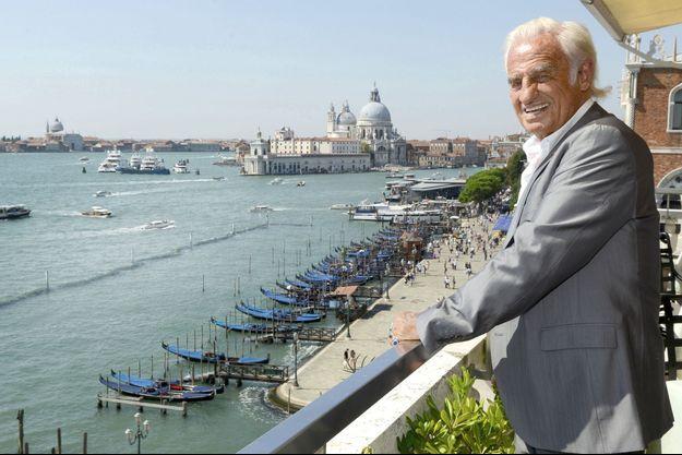 Jean-Paul Belmondo à la Mostra de Venise