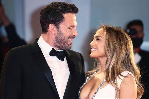 Ben Affleck et Jennifer Lopez au Festival de Venise.