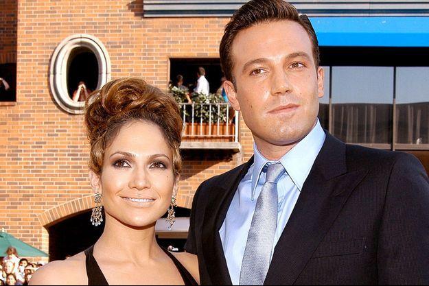 Jennifer Lopez et Ben Affleck en 2003.
