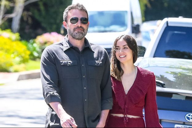 Ben Affleck et Ana de Armas en mars 2020