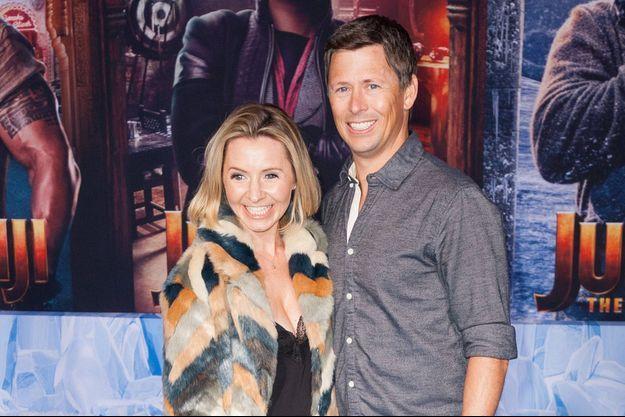 Beverley Mitchell et son mari Michael Cameron à Los Angeles en décembre 2019.