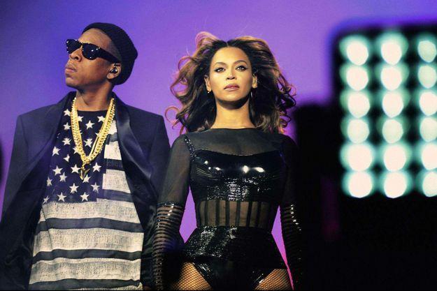 Beyoncé et Jay-Z au Stade de France le 12 septembre 2014