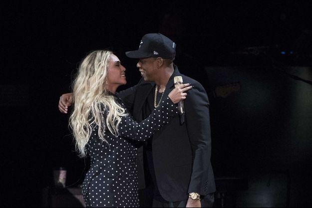 Beyoncé et Jay-Z à Cleveland en novembre 2016.