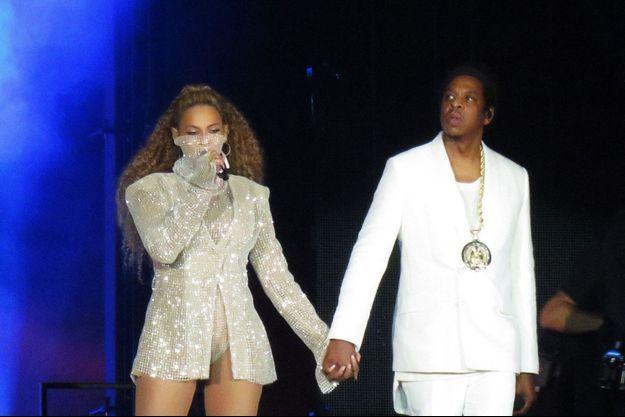 Beyoncé et Jay-Z en 2018.