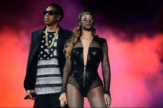 Jay-Z et Beyoncé en concert à San Francisco