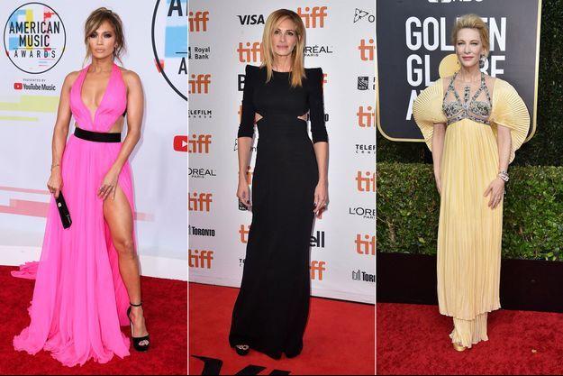 Jennifer Lopez, Julia Roberts et Cate Blanchett