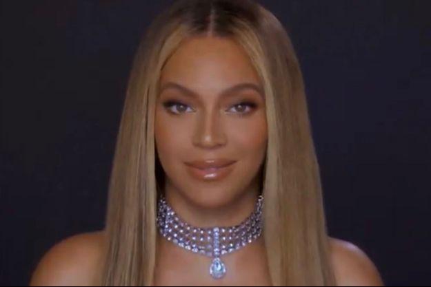 Beyoncé délivre un discours pour les BET Awards en juin 2020