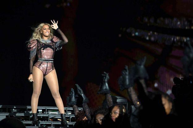 Beyoncé en concert à Houston, en septembre 2016.