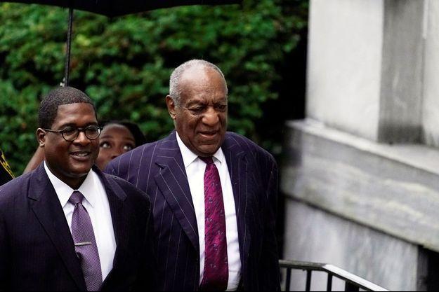 Bill Cosby à son arrivée au tribunal, le 25 septembre, à Norristown.