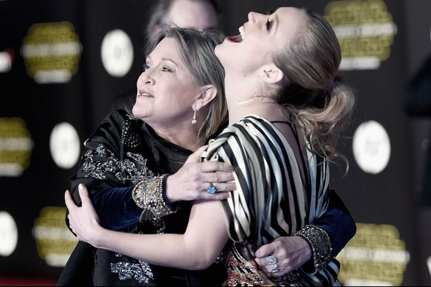 Carrie Fisher et sa fille Billie Lourd