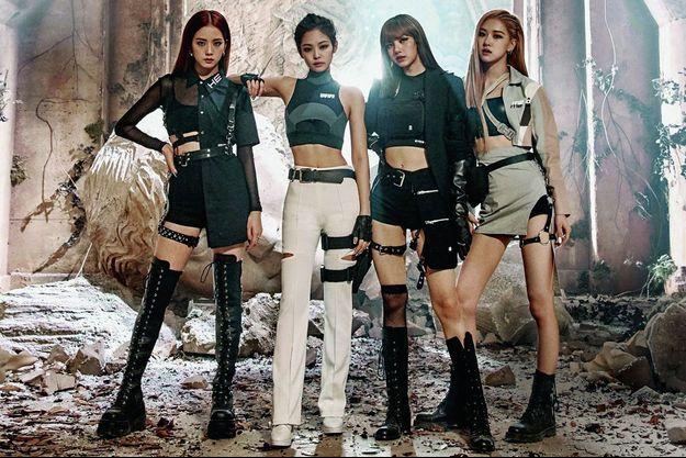 De g. à dr., Jisoo (25 ans), Jennie (24 ans), Lisa (23 ans) et Rosé (23 ans).