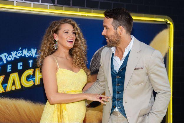 Blake Lively et Ryan Reynolds à New York en mai 2019
