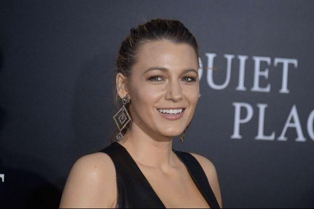 """Blake Lively à l'avant-première du film """"A quiet place"""" à New York, le 2 avril 2018"""