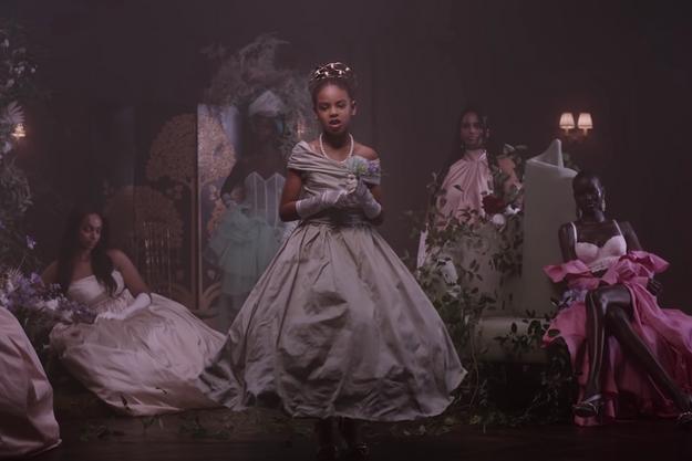 Blue Ivy Carter dans le clip «Brown Skin Girl».