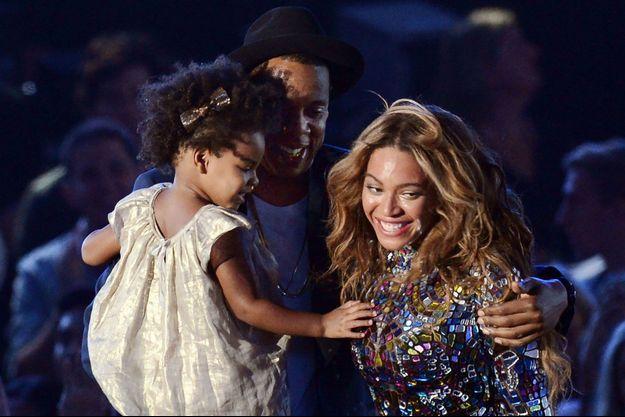 Beyoncé, Jay-Z et Blue Ivy