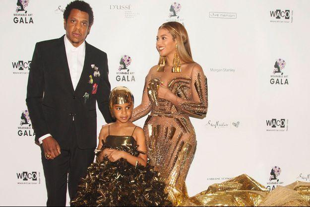 Jay Z, Beyoncé et Blue Ivy au Wearable Art Gala, le 17 mars 2018