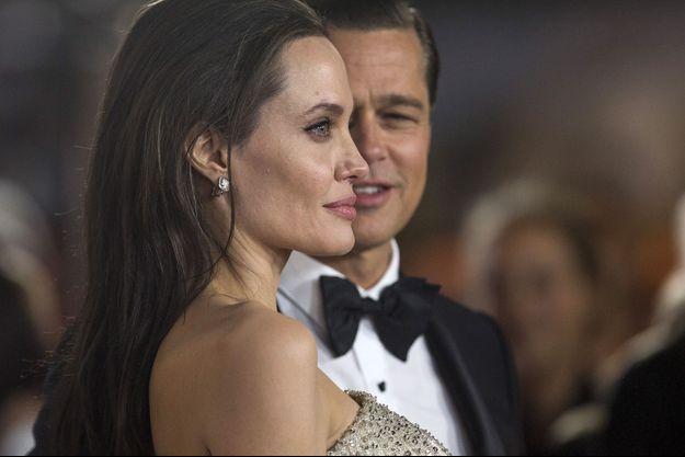 Angelina Jolie et Brad Pitt en 2016.