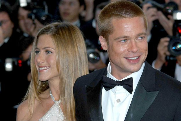 Brad Pitt et Jennifer Aniston à Cannes en 2004.