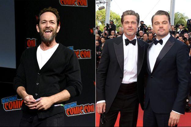 "Luke Perry, Brad Pitt et Leonardo DiCaprio ont tourné ensemble dans ""Once Upon A Time In Hollywood"""
