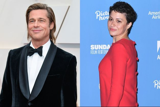 Brad Pitt et Alia Shawkat