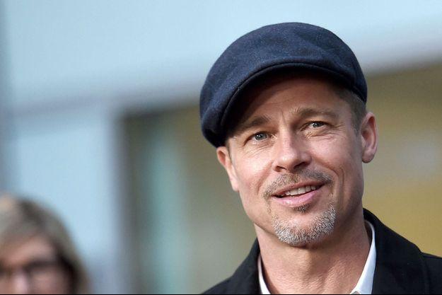 Brad Pitt en avril 2017 à Los Angeles.
