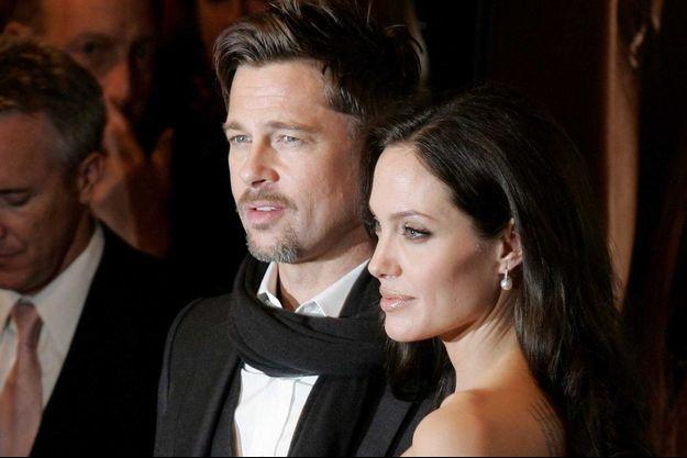 Angelina Jolie et Brad Pitt au temps du bonheur.