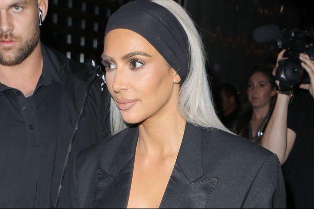 Kim Kardashian en février 2018.
