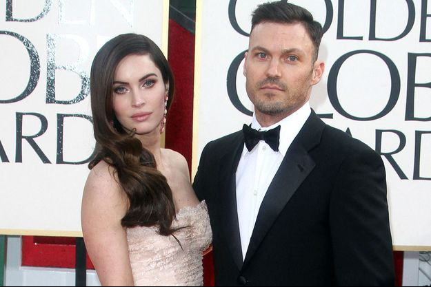 Megan Fox et Brian Austin Green en 2013