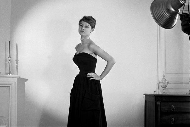 Brigitte Bardot en 1952, année de la transformation de la jeune mannequin en actrice.