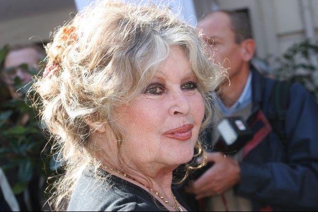 Brigitte Bardot à Paris en septembre 2006.