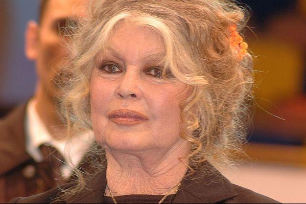 Brigitte Bardot à Paris en 2011.