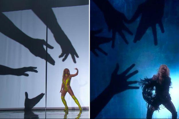 Britney Spears aux MTV VMAs / Greta Salome à l'Eurovision
