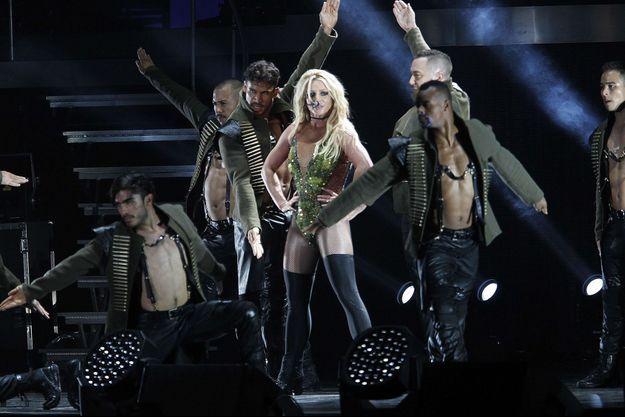Britney Spears en concert en juin 2017.