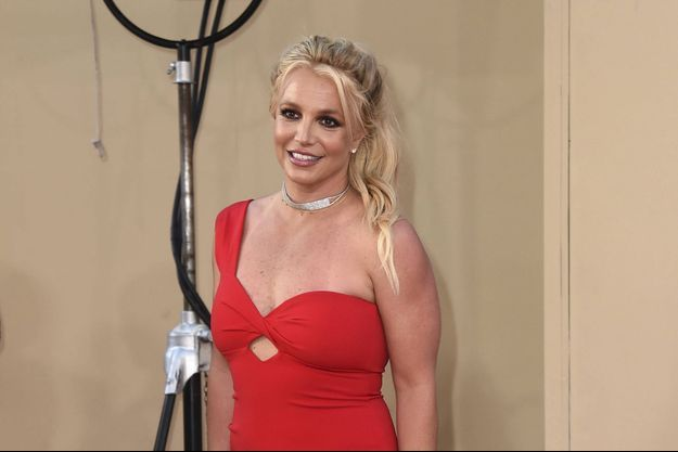 "Britney Spears, en juillet 2019 à la Premiere de ""Once Upon a Time in Hollywood"" à Los Angeles"