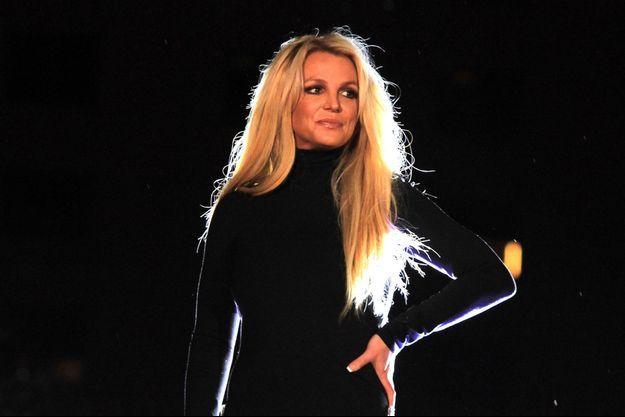 """Britney Spears à son spectacle """"Piece of Me"""" le 18 octobre 2018"""