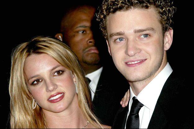 Justin Timberlake et Britney Spears en 2002