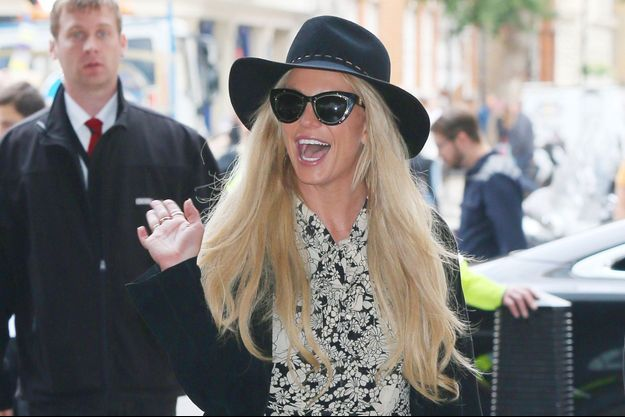 Britney Spears à Londres