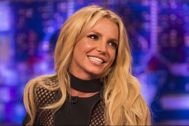 Britney Spears en promotion à Londres, septembre 2016.