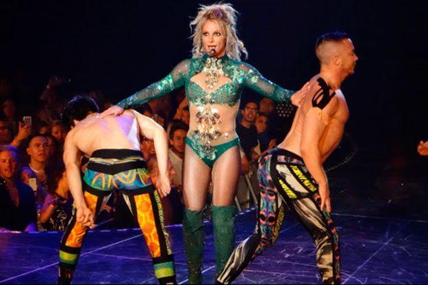 Britney Spears en show à Las Vegas