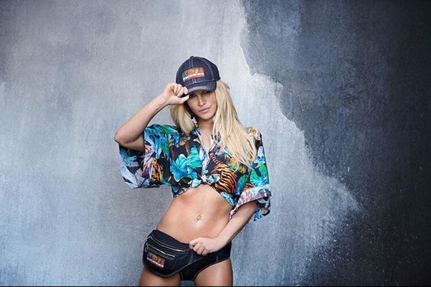 Britney Spears pose pour Kenzo.