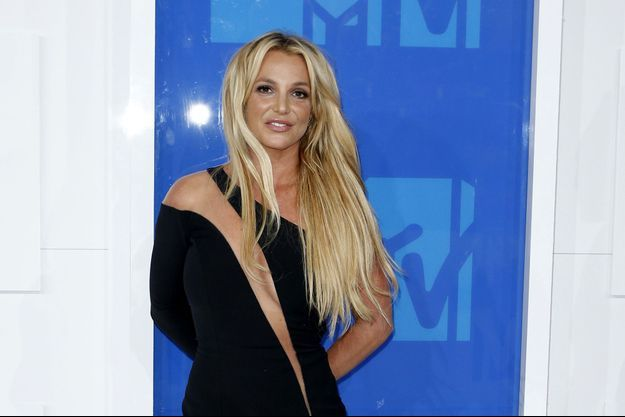 Britney Spears à New York, le 28 août 2016