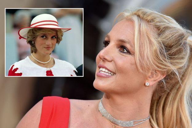 Lady Diana et Britney Spears.