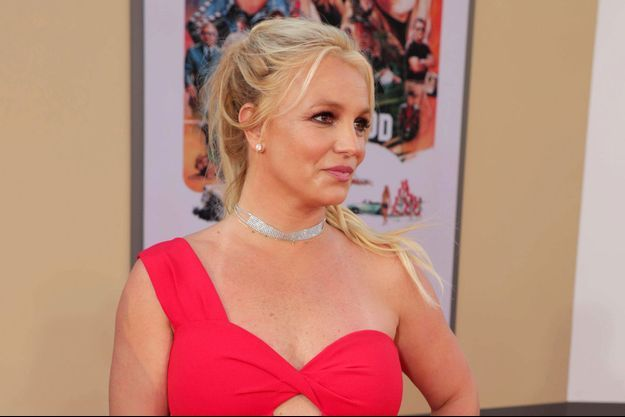 Britney Spears en juillet 2019.