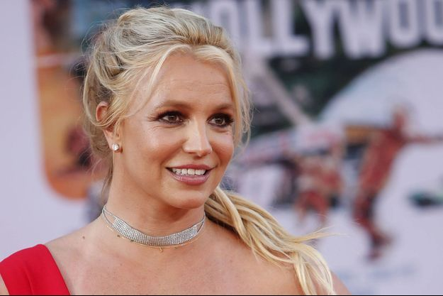 """Britney Spears à la première de """"Once upon a time in Hollywood"""" en juillet 2019 à Los Angeles"""
