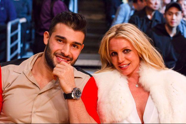 Britney Spears et Sam Asghari à Los Angeles, le 29 novembre 2017