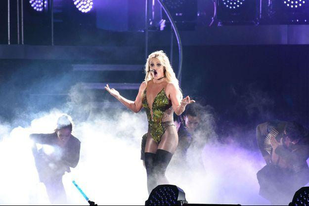Britney Spears à Tapei, le 13 juin 2017.