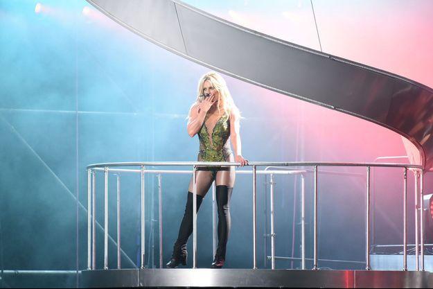 Britney Spears à Vegas en juin 2017.