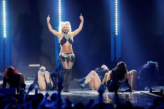 Britney Spears en 2016 au iHeartRadio Music Festival de Las Vegas.