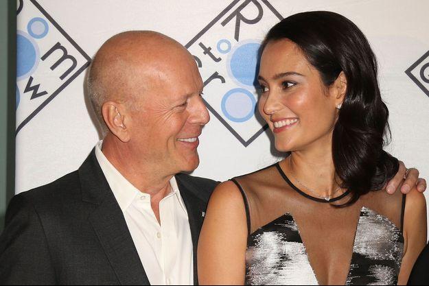 Bruce Willis et son épouse Emma Heming