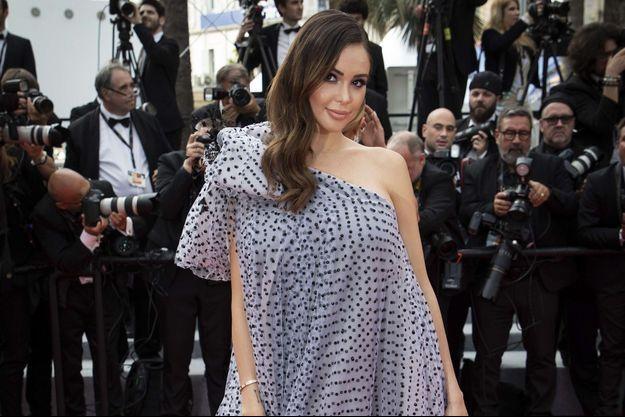 Nabilla à Cannes le 22 mai 2019.